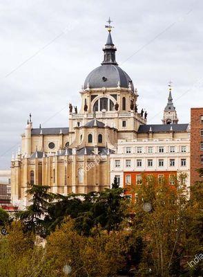 Santa Maria la Real de La Almudena in Madrid