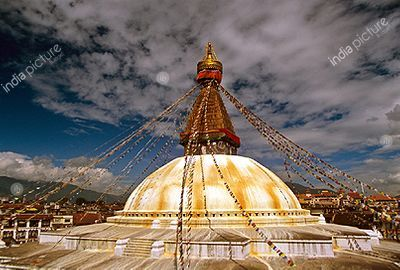 Baudhanath , Nepal